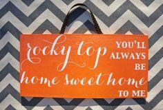 Good ol rocky top! Rocky top Tennessee! Go big Orange!