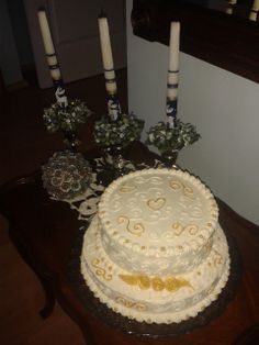 Cake I made for 50th anniversary of marriage ;-)