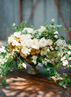 romantic september wedding flowers