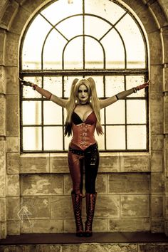 Lady Jaded als Harley Quinn