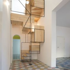 Awesome Stairs Design Home. Now we talk about stairs design ideas for home. In a basic sense, there are stairs to connect the floors Interior Stairs, Interior Architecture, Interior And Exterior, Italy Architecture, Stairs Architecture, Escalier Design, Stair Steps, Staircase Design, Wood Staircase
