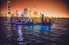 Small-Group Tour: LED Cartagena Sunset Paddle Board Watch the sunset from a LED lighted paddle board. The lights illuminate 5 feet (1.5 m) under water and 15 feet (4.6 m) around the board for a unique twist on this evening tour. No experience is necessary a instructor will be with the group the entire time and you will be given basic paddle board instructions (all gear is provided).Glide across the glassy surface of the ocean on this fantasy-turned-reality paddle board tour. S...