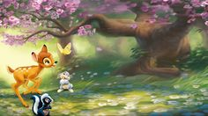 Disney Bambi Desktop Wallpaper - TsumTsumPlush.com for all of your Tsum Tsum Needs