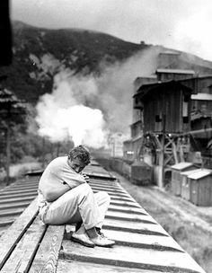 James Dean in East of Eden, 1955.