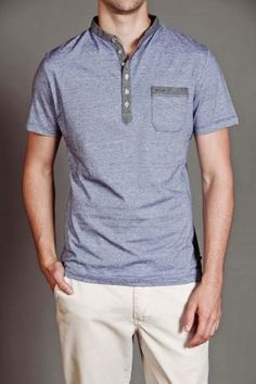 Anama S/S Polo With Colored Trim