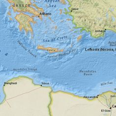 5.0 MAGNITUDE 75KM S OF LERAPETRA, GREECE  5/2/2015 --- Map showing extent (w,s,e,n) = (20.7165, 29.327399999999997, 30.7165, 39.3274)