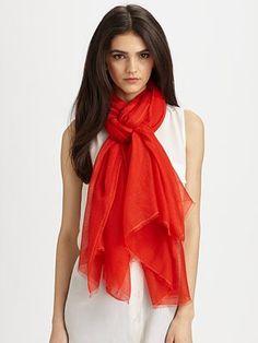 #SaksLLTrip scarf