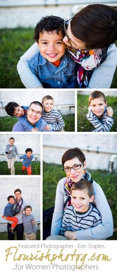 Flourish Featured Photographer Erin Staples of Erin Rachel Photography | Family Session