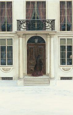 Angela Barrett illustrates the Folio edition of Anna Karenina