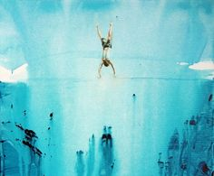 "Saatchi Online Artist Grażyna Smalej; Painting, ""Jump"" #art"