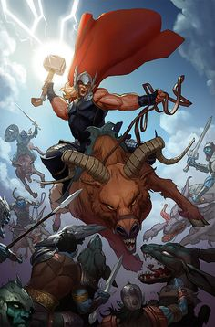 Preview: Thor: God of Thunder #14, Cover - Comic Book Resources