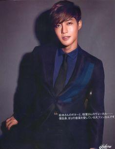 Kim Hyun Joong at VOGUE Japan Magazine [Sept'12]