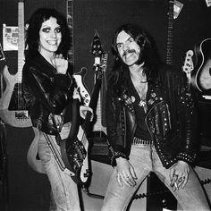 """""""When Gaye from The Adverts wanted to buy a new guitar, Lemmy from Motorhead offered to help. We all met up at a guitar shop in London..."""