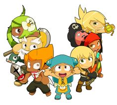 Mini-Wakfu by yamiyonofen.deviantart.com on @deviantART