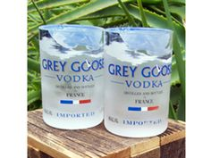 Drinking glasses are sold individually.These are hand-crafted custom-made pieces that take 3 business days to make prior to shipment.BottleHood recycles wine, beer, liquor and soda bottles into re-purposed tumblers, juice glasses and jewelry. Soda Bottles, Wine Bottles, San Diego Restaurants, Bottle Cutting, Grey Goose, Message In A Bottle, Cork Crafts, Recycled Glass, Glass Jewelry