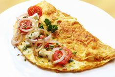 The most important meal of the day - the healthy way:  Healthy Breakfast Omelet