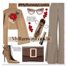 """""""What's YOUR Runway Look?"""" by spenderellastyle ❤ liked on Polyvore featuring William Fan, Caroline Constas, Boyy, Malone Souliers, Thierry Lasry, Humble Chic, Bobbi Brown Cosmetics and MyRunwayLookls"""