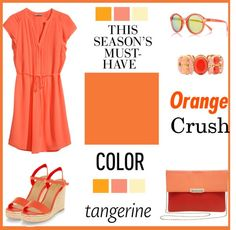 Trendy Tuesday: Colors Tangerine and Custard