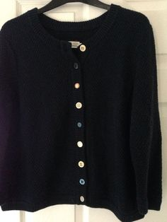 Navy joules Size 18 cardigan. Button Detailing. Vgc