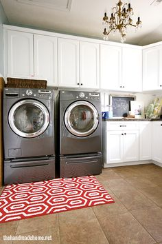 House of Turquoise: The Handmade Home | Washer Odor? | Sour Smelling Towels? | Stinky Clean Laundry? | http://WasherFan.com | Permanently Eliminate or Prevent Washer & Laundry Odor with Washer Fan™ Breeze™ | #Laundry #WasherOdor
