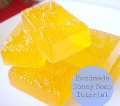 DIY Gift – Handmade Honey Soap Tutorial