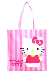 d17ed21a98 A Hello Kitty recycled shoppper - a great reusable gift bag idea. Hello  Kitty Gifts