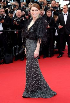 """Julianne Moore attends the opening ceremony and premiere of """"La Tete Haute"""" during the 68th annual Cannes Film Festival, May 13, 2015, in Cannes, France."""