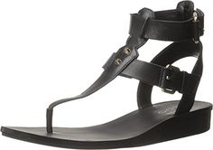 Aldo Womens Abbigaelle Gladiator Sandal Black Leather 75 B US *** Read more reviews of the product by visiting the link on the image.