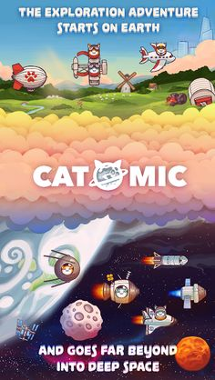 Catomic v1.2.8 (Mod Money/Unlocked) Apk Mod  Data http://www.faridgames.tk/2017/03/catomic-v128-mod-moneyunlocked-apk-mod.html