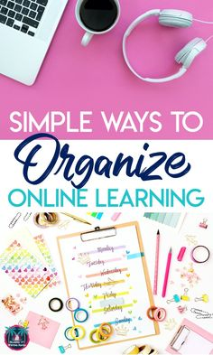 Organize online learning for students to reduce frustration and improve efficiency #ClassroomOrganization #DistanceLearning #ELATeacher Online Classroom, Classroom Jobs, Flipped Classroom, Classroom Management, Google Classroom, Classroom Setup, Writing Lessons, Art Lessons, Writing Rubrics