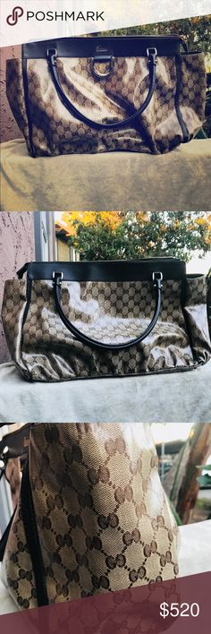 Authentic Gucci GG Crystal purse 👜 Authentic crystal purse 👜, I am the original owner and I purchased this from the Gucci store in Vacaville,Ca on 5/24/14. Comes with dustbag  Too! I only used it about 5 times .. it's too big for me and I have been collecting LV bags.... I would like this to go to a home that will enjoy😊 Gucci Bags Shoulder Bags
