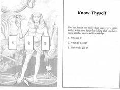 Know Thyself Tarot Spread