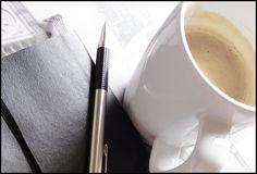 Coffee and a moleskine