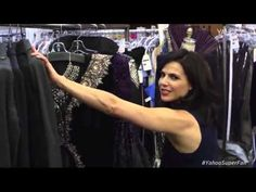 Once Upon A Time Lana Parrilla gives an exclusive set tour - 09/28/2015