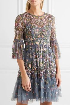 This Needle & Thread dress is a must have for wedding season.