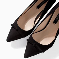 Image 5 of HIGH HEEL LEATHER COURT SHOE WITH POINTED TOE from Zara
