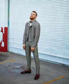 Conor McGregor por Thomas Whiteside para GQ Style Spring 2017