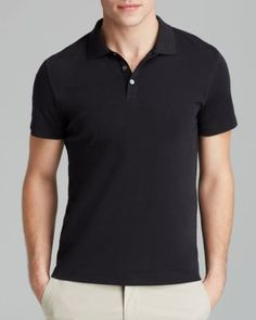 c1b0497cf THEORY Boyd Census Slim Fit Solid Pique Polo.  theory  cloth  polo