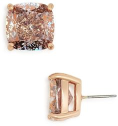 Kate Spade Small Square Stud Earrings #diamondjewelry