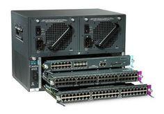 Cisco Catalyst Switch 4503 PoE module  WS-X4013+TS SUPERVISOR 2 +TS  WS-X4548-GB-RJ45  WS-X4548-GB-RJ45  Garantie 2 mois  usagé la switch  Cisco Catalyst Switch 4503 PoE