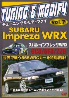 [DVD] SUBARU Impreza WRX GC8/GF8/22B TUNING & MODIFY