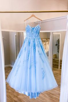 Blue tulle lace long prom dress evening dress sold by loveydress. Shop more products from loveydress on Storenvy, the home of independent small businesses all over the world. A Line Prom Dresses, Tulle Prom Dress, Tulle Lace, Ball Dresses, Homecoming Dresses, Lace Dress, Ball Gowns, Evening Dresses, Formal Dresses