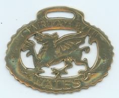 """Welsh Dragon with the saying """"Wales Forever"""""""
