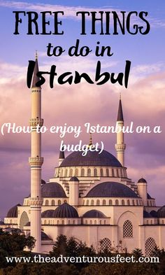 13 Free things to do in Istanbul - The adventurous feet Turkey Facts, Facts About Turkey, Istanbul Airport, Istanbul Travel, Travel Guides, Travel Tips, Thinking Day, Turkey Travel, Free Things To Do