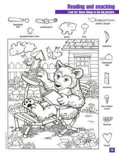 best ideas about Hidden pictures Hidden Object Puzzles, Hidden Picture Puzzles, Hidden Objects, Worksheets For Kids, Craft Activities For Kids, Coloring For Kids, Adult Coloring, Colouring Pages, Coloring Books