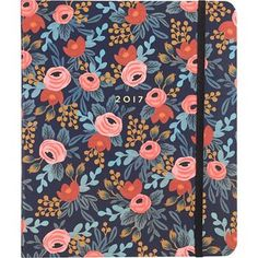 Rifle Paper Co. Rosa Academic Planner 2016-2017