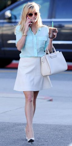 Look of the Day - March 01, 2015 - Reese Witherspoon from #InStyle