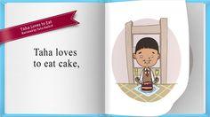 Taha Loves to Eat by Sheharzad Arshad, via Behance