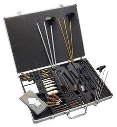 Hoppe's BUS-UACPR Premium Cleaning Kit, Alum Case, Shotgun and pistol adaptable #Hoppes