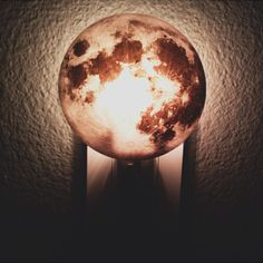 "Fancy - Moon Plug In Night Light by Kikkerland.    7-Watt bulb included  L 6.7"" x W 4.8"" x H 0"""